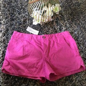 New Banana republic pink shorts